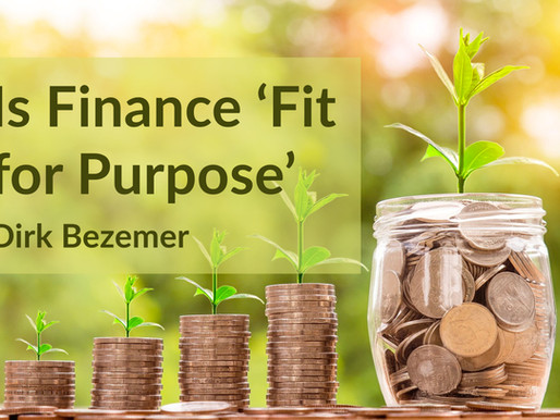 Is Finance 'Fit for Purpose'?