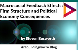 MacroSocial Feedback Effects – Firm Structure and Political Economy Consequences