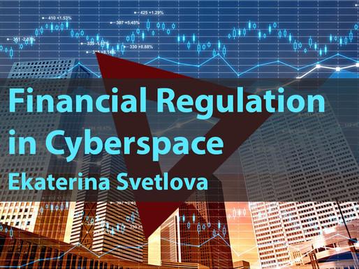 Financial Regulation in Cyberspace