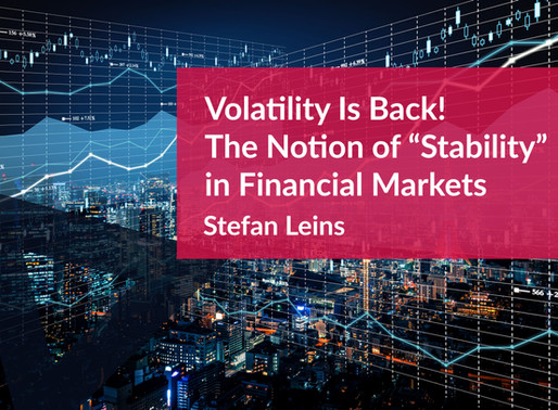 Volatility is Back!