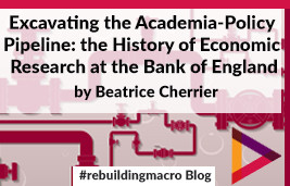Excavating the Academia-Policy pipeline: the history of economic research at the Bank of England