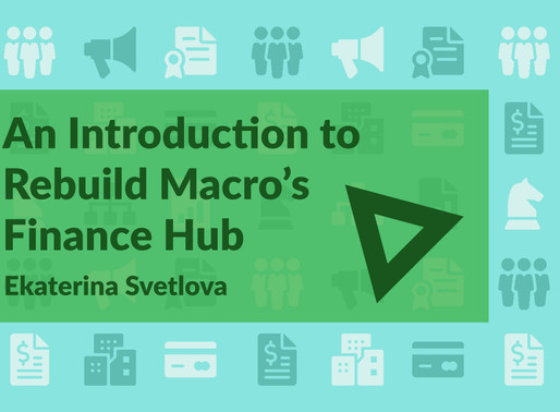 An Introduction to the Finance Hub