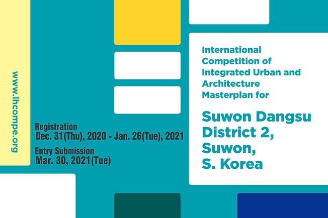 international-competition-of-integrated-urban-and-architecture-masterplan-for-suwon-dangsu-district