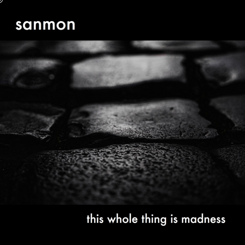 """Album Cover (Sanmon): """"this whole thing is madness """""""