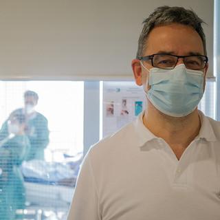 Reportage: Corona im Spitalzentrum Biel