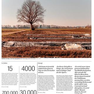 Bild der Woche: Spargelfelder in Kallnach.  Bild: Mattia Coda; Bieler Tagblatt