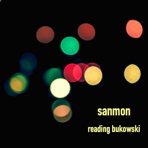 """Album Cover (Sanmon): """"reading bukowski"""""""