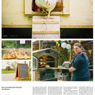 """Reportage """"Bauernhof"""".  Bilder und Text: Mattia Coda; Bieler Tagblatt"""