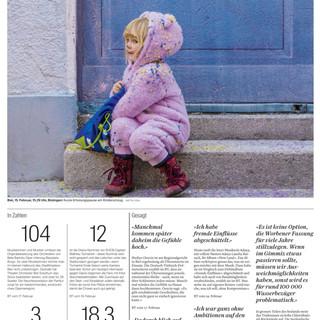 Bild der Woche: Fasnacht.  Bild: Mattia Coda; Bieler Tagblatt