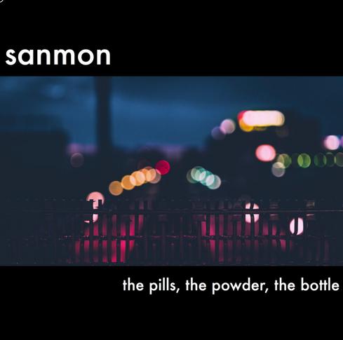 "Album Cover (Sanmon): ""the pills, the powder, the bottle"""