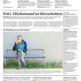 Corona-Krise.  Frontbild: Mattia Coda; Bieler Tagblatt