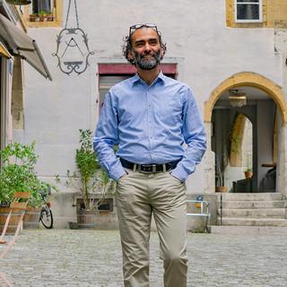 Al Hafany Mohamad Ashraf: Gründer eines Hilfswerks für Fluechtlinge