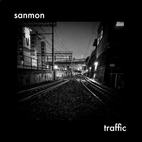 """Album Cover (Sanmon): """"traffic"""""""