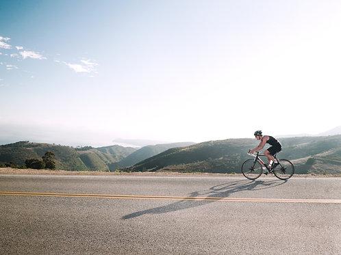 Cykelresa Epirus, Landsväg