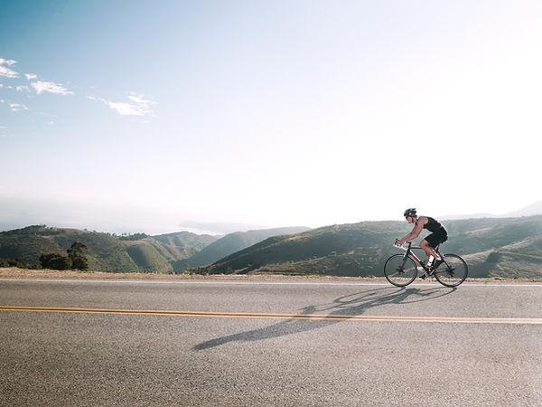 Bicicleta de carretera escénica