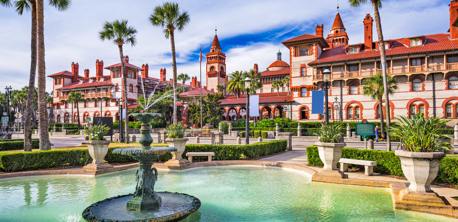 St. Augustine, Florida, USA town square