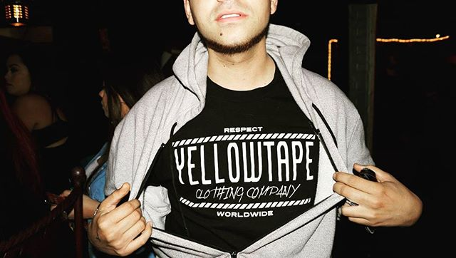 Its a Lifestyle_Yellowtape out in Boyle Heights Order your gear at www.yellowtapeclothing
