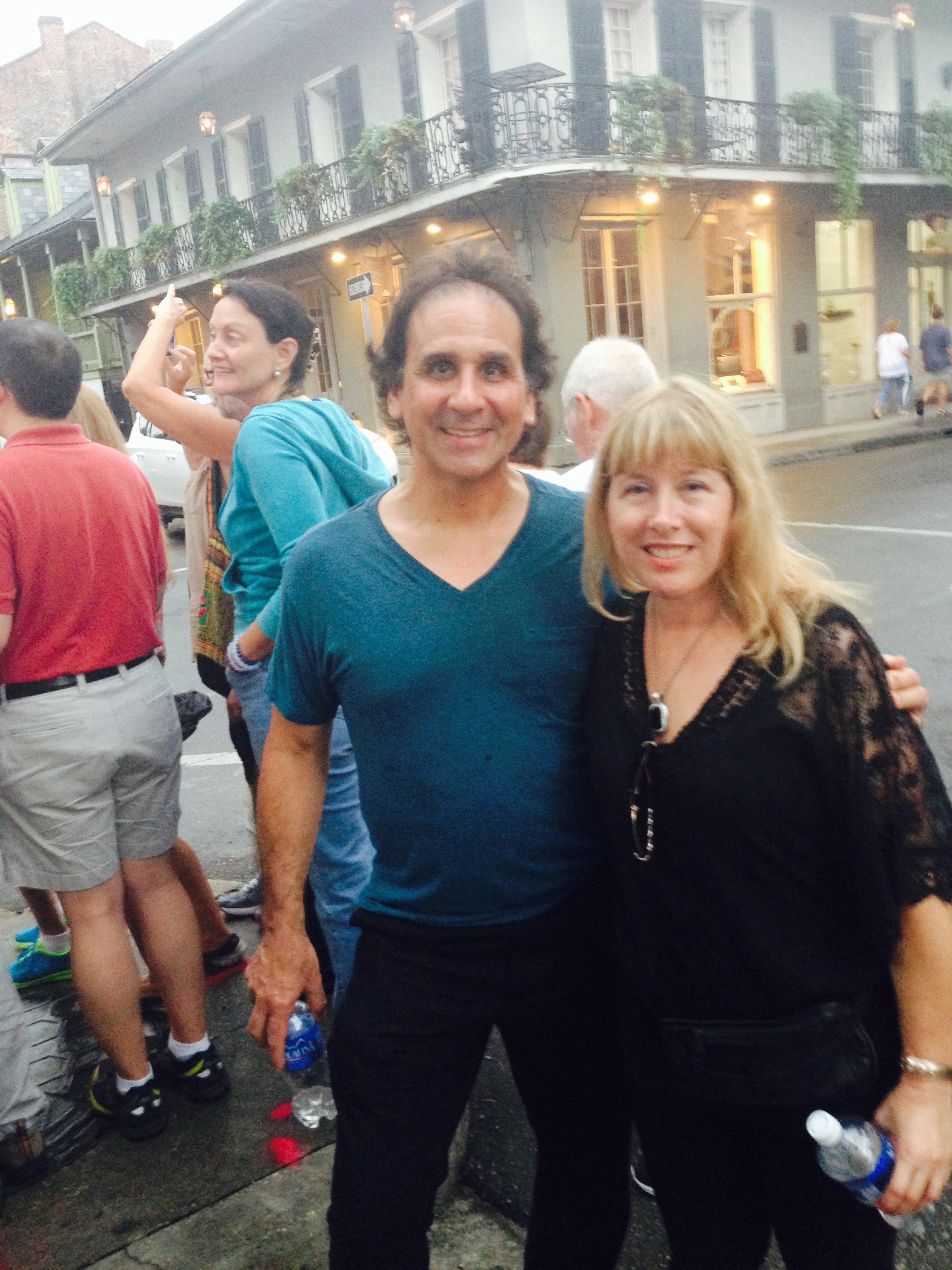 Chris Georges and Debra Katz