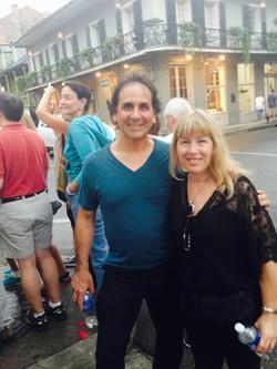 Chris Georges and Debra Katz
