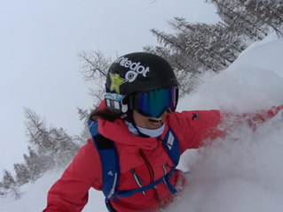 POWDER and happy faces :D