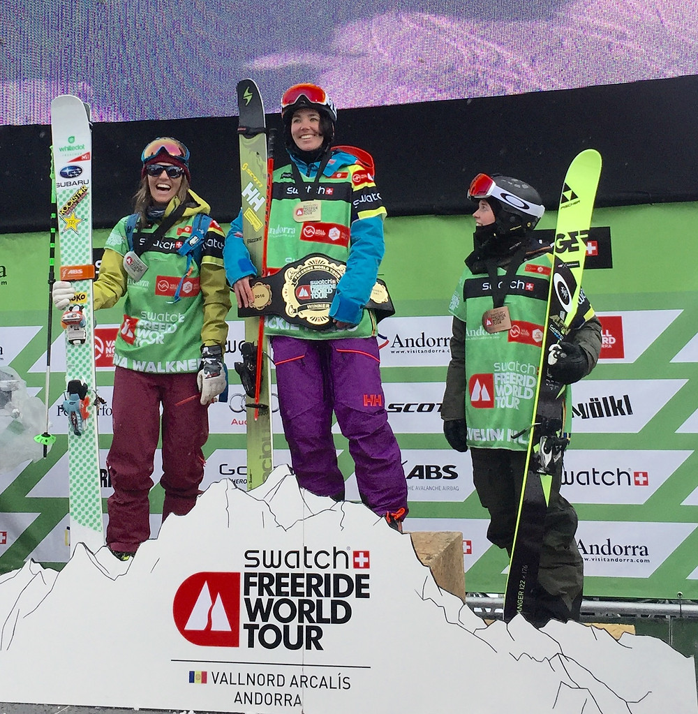 Jackie Paaso was the great winner, Evelina Nilsson came 3rd in her first World Tour comp! Congraz Ladies