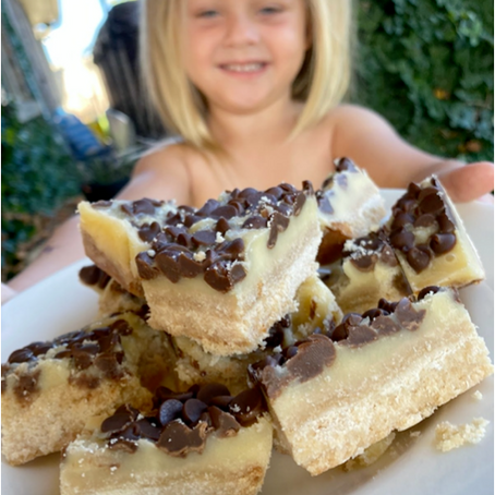 Recipe: Healthy Shortbread Caramel Bars