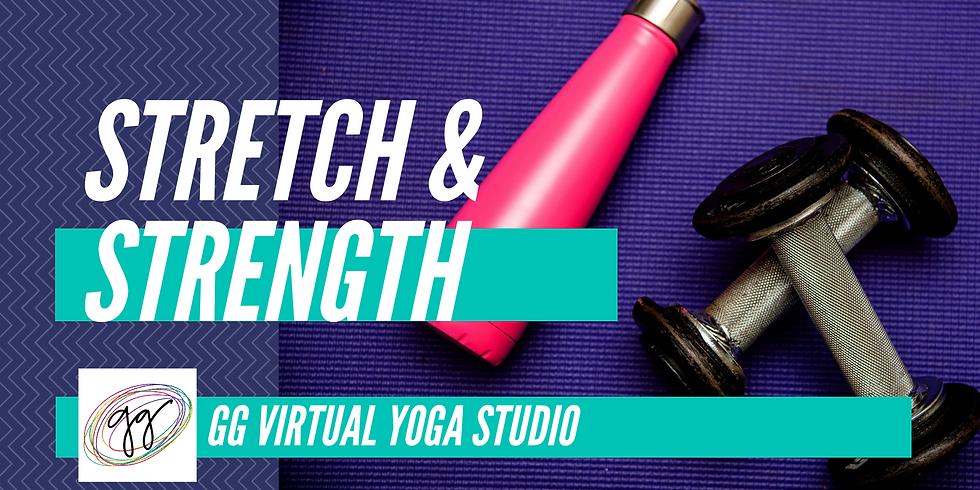 Stretch & Strength (Tu 8/18)