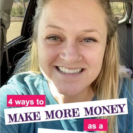 4 (plus?) Ways to Make More Money as a Fitness Instructor (or any role you fill in business!)