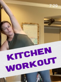 Kitchen Workout!