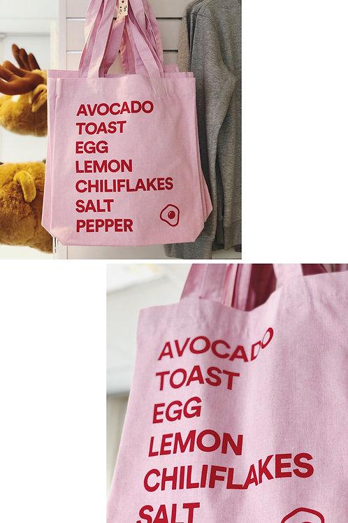 Canvas tote - Avocado Recipe