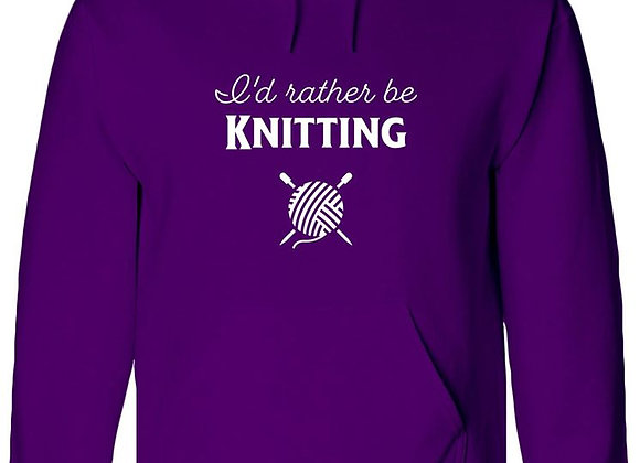 I'd Rather Be Knitting - WBP Jumper