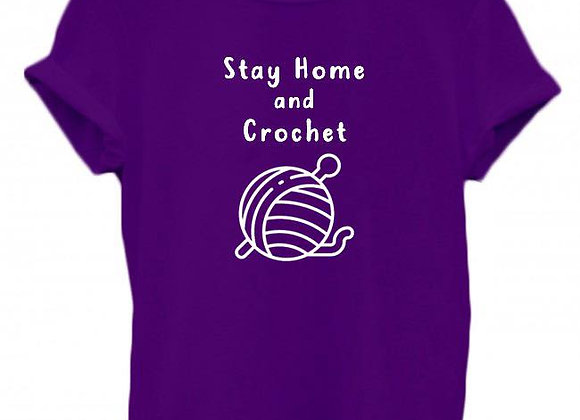 Stay Home And Crochet - WBP T-Shirt