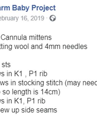 CANNULA MITTEN 2