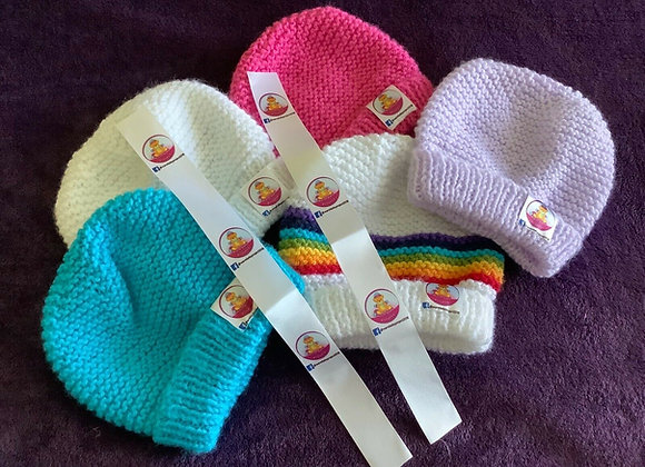 Warm Baby Project - Hat Labels
