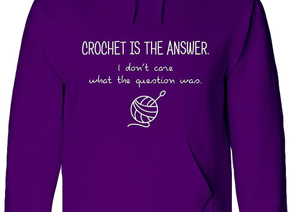 Crochet Is The Answer - WBP Jumper