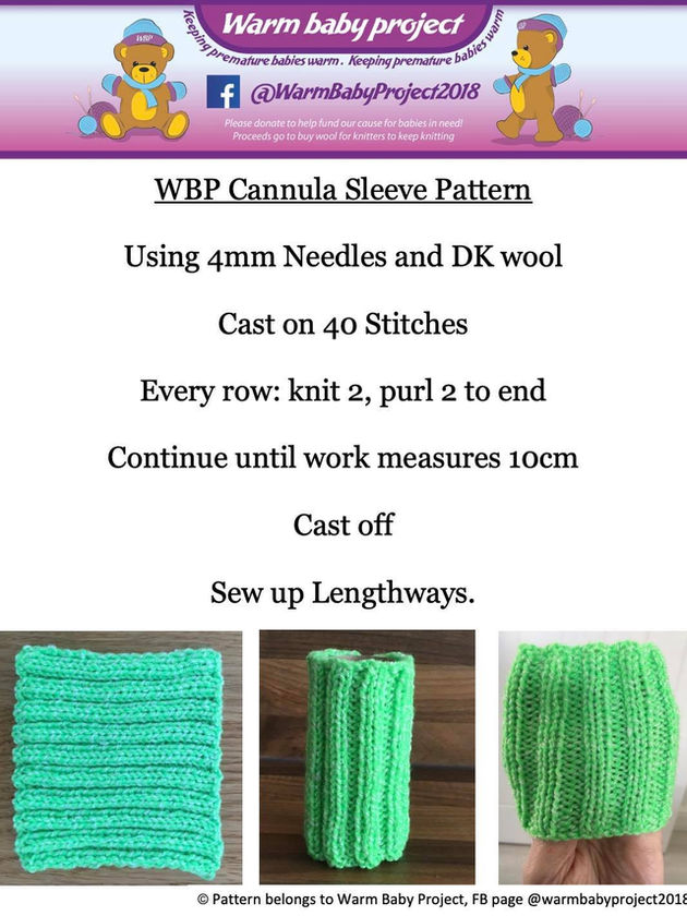 CANNULA SLEEVE PATTERN