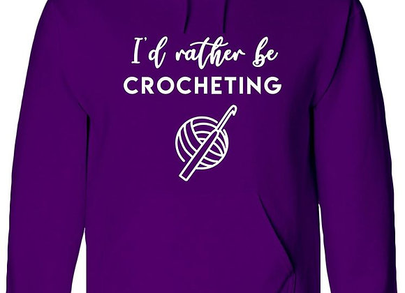 I'd Rather Be Crocheting -WBP Jumper