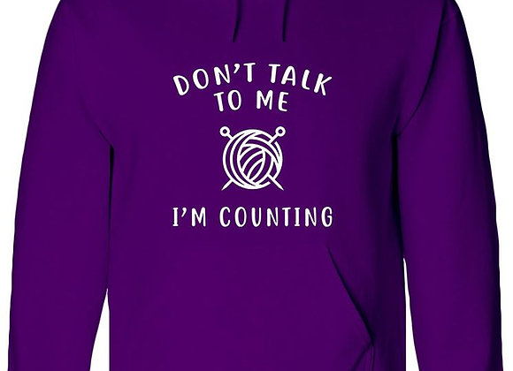 Don't Talk To Me, I'm Counting - WBP Jumper