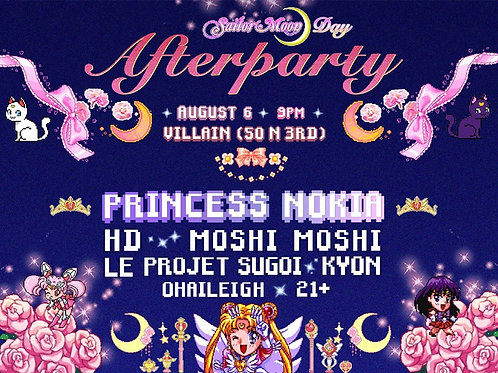 Senpai Project International Sailor Moon Day Afterparty