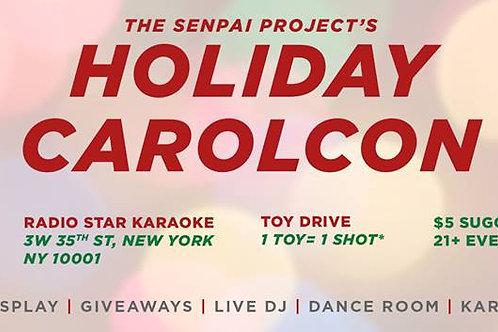 Senpai Project Holiday CarolCon