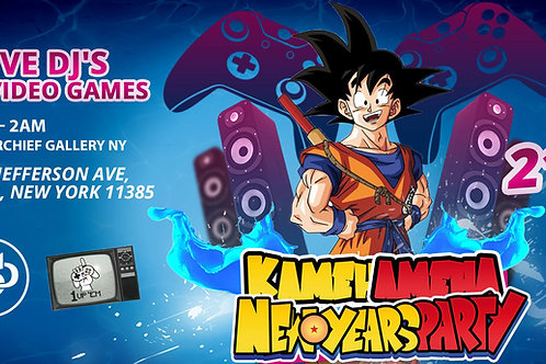 Senpai Project Kamehameha New Years Party