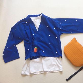 Karate Jacket + Bag