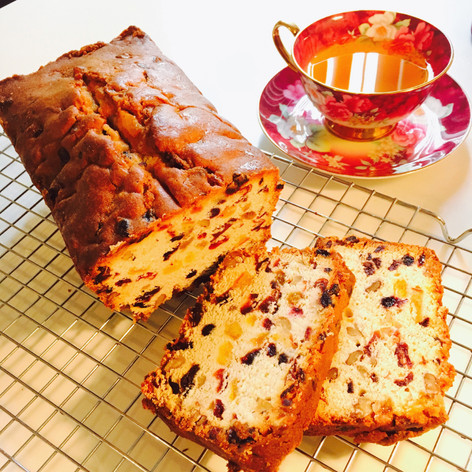 Fruits & Nuts Pound Cake