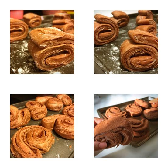 Quadruple Chocolate Croissant