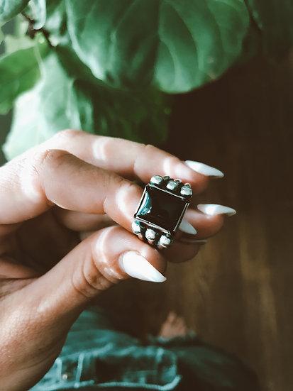 Chucky Black Onyx Ring