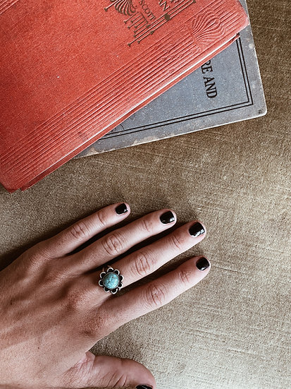 Turquoise + Sterling Silver Ring I