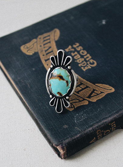 Vibrant Turquoise Ring