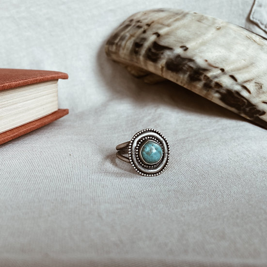 Turquoise + Sterling Silver Ring II