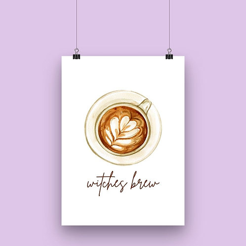 Witches Brew Wall Art