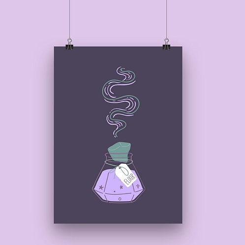 Witch's Potion Wall Art